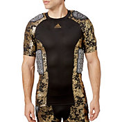adidas Adult techfit® Gold Foil Padded Football Shirt