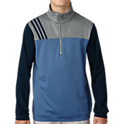 adidas Boys' 3-Stripes Layering Golf Jacket