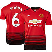 adidas Men's Manchester United Paul Pogba #6 2018 Stadium Home Replica Jersey