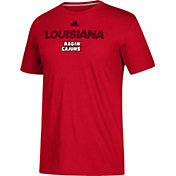 adidas Men's Louisiana-Lafayette Ragin' Cajuns Red Go-To Performance T-Shirt