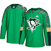 adidas Men's 2018 St. Patrick's Day Pittsburgh Penguins Authentic Pro Jersey