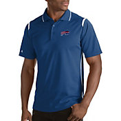 Antigua Men's Buffalo Bills Merit Royal Xtra-Lite Polo
