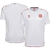 Hummel Youth 2018 FIFA World Cup Denmark Stadium Away Replica Jersey