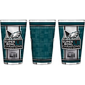 Boelter Super Bowl LII Champions Philadelphia Eagles 16oz. Pint Glass