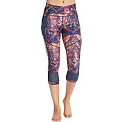 CALIA by Carrie Underwood Women's Essential Print Side Interest Capris