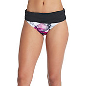CALIA by Carrie Underwood Women's Pattern Overlap Swim Bottom