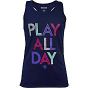 Champion Girls' Play All Day Graphic Tank Top