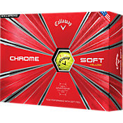 Callaway 2018 Chrome Soft Yellow Golf Balls
