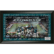 Highland Mint Super Bowl LII Champions Philadelphia Eagles Signature Grid Frame