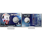 Highland Mint AFC Conference Champions New England Patriots Silver Coin Card