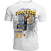 Levelwear Men's Indiana Pacers Myles Turner Center Court White T-Shirt