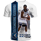 Levelwear Men's Minnesota Timberwolves Andrew Wiggins Breakaway White T-Shirt