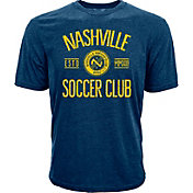 Levelwear Youth Nashville SC Logo Navy Heathered T-Shirt