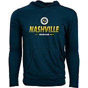 Levelwear Youth Nashville SC Armstrong Heather Grey Pullover Hoodie