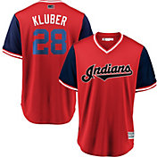 Majestic Men's Cleveland Indians Corey Kluber 'Klub' MLB Players Weekend Jersey