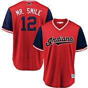 Majestic Men's Cleveland Indians Francisco Lindor 'Mr. Smile' MLB Players Weekend Jersey