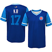 Majestic Youth Chicago Cubs Kris Bryant 'KB' MLB Players Weekend Jersey Top