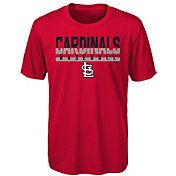 Majestic Youth St. Louis Cardinals Dri-Tek Wild Card T-Shirt