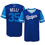 Majestic Youth Los Angeles Dodgers Cody Bellinger 'Belli' MLB Players Weekend Jersey Top