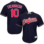 Youth Replica Cleveland Indians Edwin Encarnacion #10 Alternate Navy Jersey