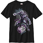 Fifth Sun Boys' Marvel 'Black Panther' Street Panther Graphic T-Shirt