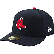 New Era Men's Boston Red Sox 59Fifty Alternate Navy Low Crown Fitted Hat