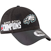New Era Men's Super Bowl LII Champions Philadelphia Eagles Locker Room 9Forty Adjustable Hat