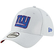 New Era Men's New York Giants Sideline Training Camp 39Thirty Grey Stretch Fit Hat