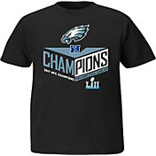 NFL Youth NFC Conference Champions Philadelphia Eagles Destiny Drive Black T-Shirt