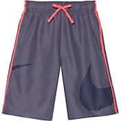 Nike Boy's Macro Logo Diverge Swim Trunks