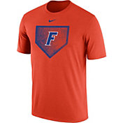 Nike Men's Florida Gators Orange Baseball Diamond T-Shirt