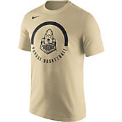 Nike Men's Purdue Boilermakers Old Gold Basketball Verbiage Dri-FIT T-Shirt