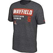 Nike Men's Cleveland Browns Baker Mayfield #6 Marled Grey T-Shirt