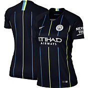 Nike Women's Manchester City 2018 Breathe Stadium Away Replica Jersey