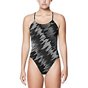 Nike Women's Performance Immiscible Crossback Swimsuit