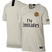 Nike Youth Paris Saint-Germain 2018 Breathe Stadium Away Replica Jersey