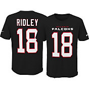 Nike Youth Atlanta Falcons Calvin Ridley #18 Pride Black T-Shirt