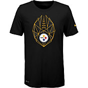 Nike Youth Pittsburgh Steelers Icon Performance Black T-Shirt