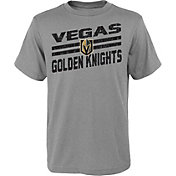 NHL Youth Vegas Golden Knights Iced Through Heather Grey T-Shirt