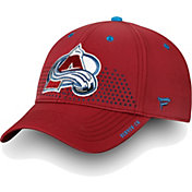 NHL Men's Colorado Avalanche 2018 NHL Draft Structured Red Flex Hat