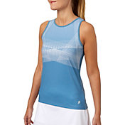 Prince Women's Laser Stripe Tank Top