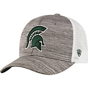 Top of the World Men's Michigan State Spartans Grey Warmup Adjustable Hat