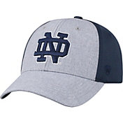 Top of the World Men's Notre Dame Fighting Irish Grey/Navy Faboo 1Fit Hat