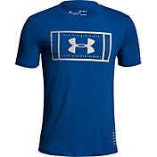 Under Armour Boys' Football Field Graphic T-Shirt