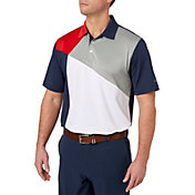 Walter Hagen Men's USA Colorblock Golf Polo